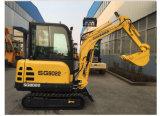 Buen precio Sg8022 Mini excavadora