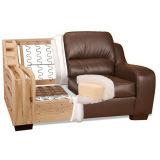 平らなジグザグ形のソファーのばね