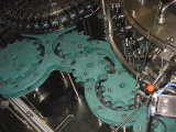 Bouteille en verre Brosse / CSD Machine de remplissage