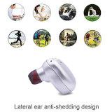 , Auricular sin hilos verdadero invisible y ajustado ajustado de Bluetooth