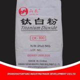 Modificado para el polvo de goma y plástico del dióxido Titanium