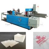 Plegado automático de impresión Full Color de servilleta de papel higiénico que hace la máquina