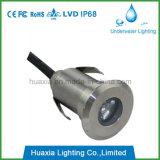 1W Mini Single LED Underground Light Outdoor LED Paver Light with IP68 Rating
