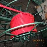 Желтая производственная линия PVC/PE Coated