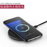 O carregador rápido sem fio padrão quente o mais novo F8 de Amazon Samsung S8