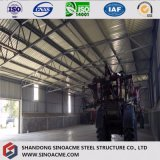Armazém africano da fábrica da construção do fardo da tubulação do frame de aço