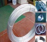 Por inmersión en caliente de galvanizado alambre / galvanizado alambre de hierro / Encuadernación Wire