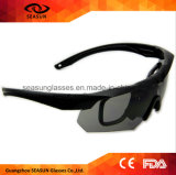 Custom Private Label Shooting Eye Glasses 2016 Anti-arranhões militares Clarity Night Vision Goggles for Man