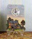 Relógio de decoração de resina para presente de lembrancinha