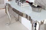 مصنع إمداد تموين منزل أثاث لازم بيضاء زجاجيّة [ستينلسّ ستيل] [كنسل تبل]