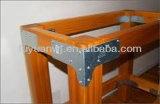 Metal personalizado Inferior al aire libre Vigueta suspensión / chapa de acero galvanizado Conector de madera