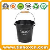 Benna dello stagno dei rifiuti del metallo, secchio dello stagno, stagni da tavolino dello scomparto residuo