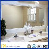 2mmから8mmの工場価格のフロートガラスの大きい壁の浴室ミラー