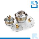 Комплекты шара нержавеющей стали оптового нового типа золотистые