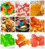 각종 모양을%s 가진 기계를 만드는 연약한 과일 묵 고무 같은 사탕