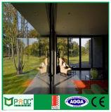 De Franse Horizontale Schuifdeur van het Glas van het Aluminium met Nieuw Ontwerp