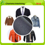 Costumes masculins Twill Fusible Woven Polyester Viscous Denin Interlining