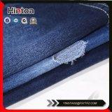 97%Cotton 3%Spandex Blauwe Kleur Franse Terry Knitting Denim Fabric