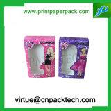 Karikatur-kundenspezifisches Augenschminke-Paletten-Geschenk-Papierkästen mit Belüftung-Fenster