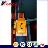 Telefono resistente esterno impermeabile Emergency del telefono Knsp-01 Kntech