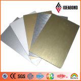 El panel compuesto de aluminio material decorativo aplicado con brocha Acm