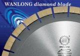 El corte del diamante consideró la lámina para el corte de piedra del bloque y de la losa