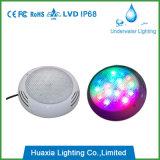 316 indicatore luminoso subacqueo del raggruppamento dell'acciaio inossidabile LED