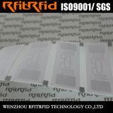 Collants imperméables à l'eau d'adhésif d'IDENTIFICATION RF de résistance d'Anti-Métal de fréquence ultra-haute
