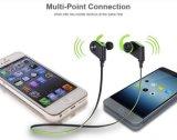 중국 고품질 Mic와 Bluetooth 먼 이어폰을%s 가진 무선 이어폰 Bluetooth 4.1 버전 스포츠 이어폰
