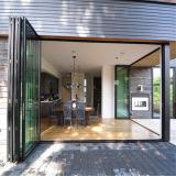 Portello di piegatura di vetro di alluminio con vetro laminato