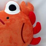 Jouet bourré par crabe de palier de forme de crabe