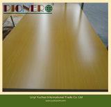 Placa de MDF de melamina de alta qualidade para gabinete de cozinha