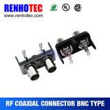 Connecteur BNC à angle droit du connecteur à montage sur CI
