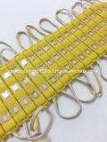 Желтый модуль витринного освещения СИД