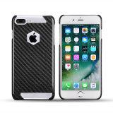 Casse reali della fibra del carbonio per il telefono mobile più di iPhone 7