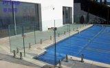 중국 공급자 고품질 테라스 방책은 Frameless 수영장 담을%s 스테인리스 유리제 방책 마개를 디자인한다