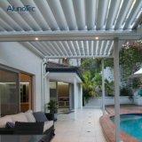 Wasserdichte Louvred Dachpergola-Dach-Luftschlitze