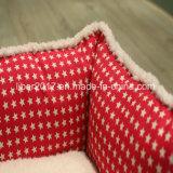 أحمر تألّق نوعية محبوب سرير قطع كلب أريكة برنامج متحمّل ([أم])