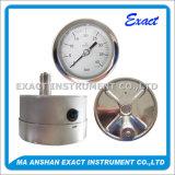 完全な安全圧力計か反爆発の圧力計