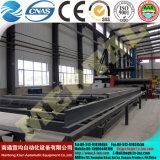 유압 CNC 격판덮개 회전 기계를 제조하는 Mclw12hxnc-80X3200 바람 탑