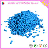 Голубое Masterbatch с пластичным сырьем