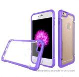 Respingente di TPU + caso acrilico del coperchio del telefono per il iPhone 8