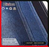 あや織り4の方法伸張の厚い編むデニムのジーンズファブリック345GSM
