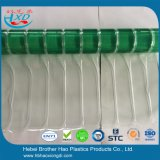 透過適用範囲が広いPVCストリップのドア・カーテンロールスロイスを折る安い緑