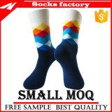 China-kundenspezifische Fabrik-glückliche japanische Mann-Baumwollkleid-Gefäß-Socken