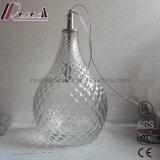 Europäische transparente Glasananas-Form-hängende Lampe