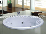 Jacuzzi rotonda di 1600mm con Ce e RoHS (AT-0914)