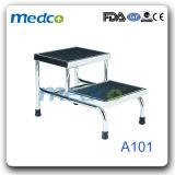 Meubilair van het Ziekenhuis van het metaal het Materiële, de Medische Chirurgische Kruk van de Enige Stap