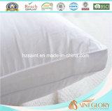 Белого чисто нормального размера крышки хлопка UK белая гусыни подушка Gusset вниз для гостиницы