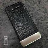 PU-lederner Telefon-Deckel, gemeinsamer Art-Form-Handy-Fall für Samsung-Anmerkung 8